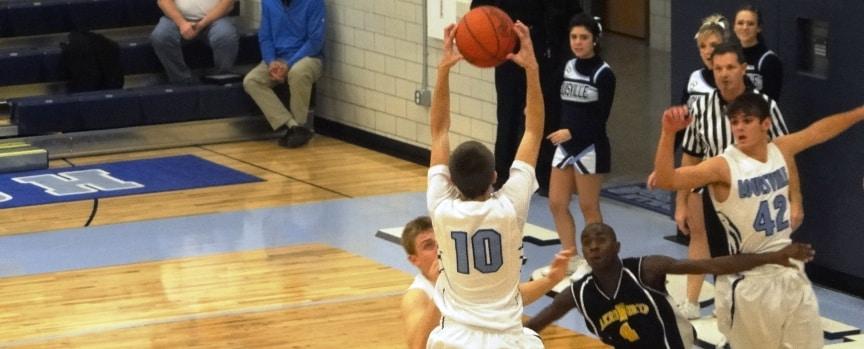 Jake O'brien Akron North at Louisville Boys Varsity Basketball 12-17-2011