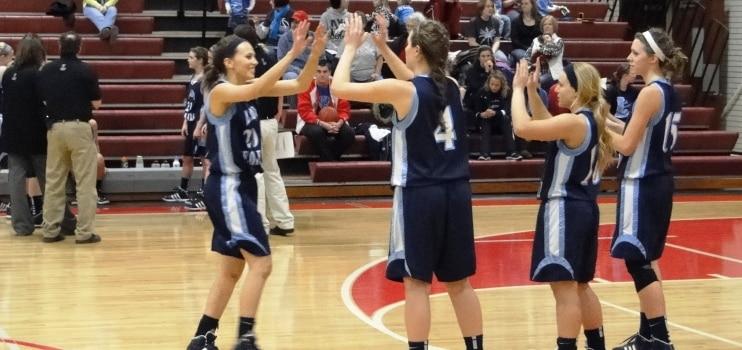 Minerva Lions vs. Louisville Leopards Girls Varsity Basketball 1-14-2012