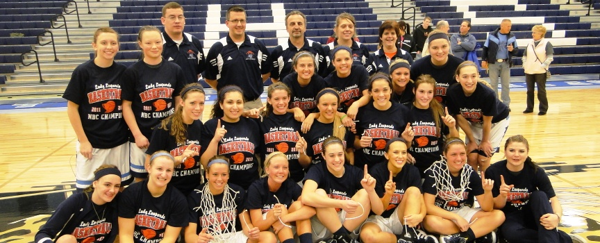 Louisville Lady Leopards Back-to-Back NBC Champions