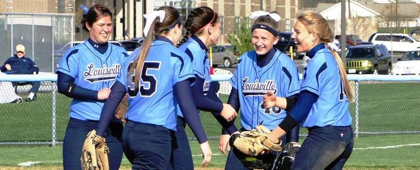 Alliance Aviators at Louisville Leopards Girls Softball