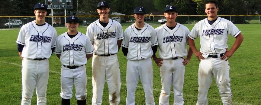 Louisville Leopards Baseball Seniors 2012