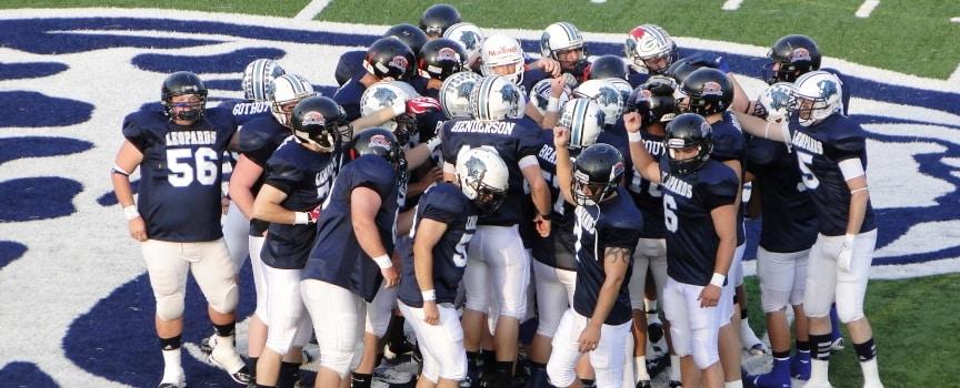 Louisville Leopards Alumni Football Team 2012