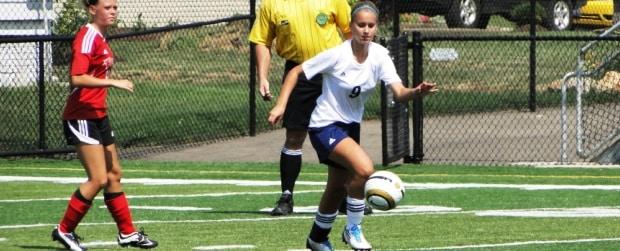 Samantha Kibler Louisville Lady Leopards Girls Soccer Vs. Field Falcons 2012