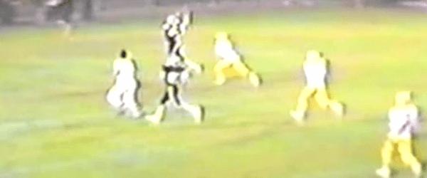 Matt Zwick Catches Bruce Mathie Pass 1984 Louisville Vs. Jackson