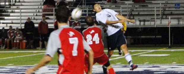 Kyle Baker Louisville Leopards Soccer Vs. Minerva Lions