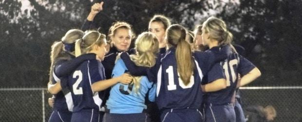 Louisville Lady Leopards Girls Soccer Sectional Final 2012