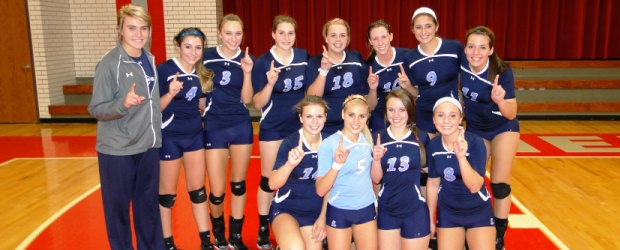 Louisville Lady Leopards Volleyball 2012 NBC Champions