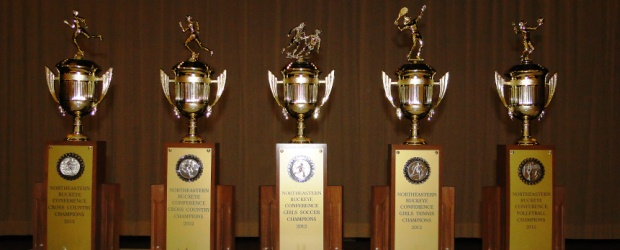 Fall Sports 2012 NBC Trophies - Louisville Leopards