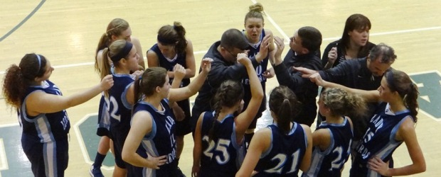 Louisville Lady Leopards Basketball at Central Catholic 2013