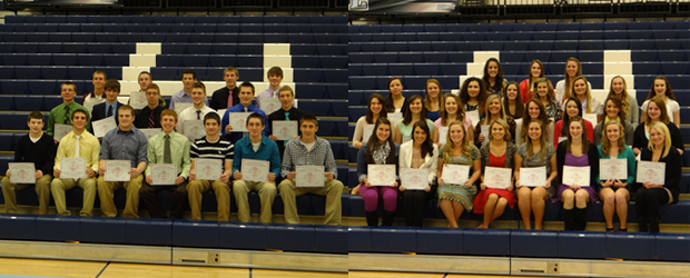 Winter Sports 2013 Scholar Athletes