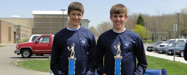 Jake Pukys & Adam Sullivan Louisville Doubles Classic Champions 2013