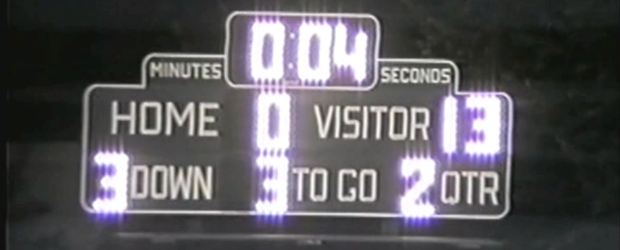 Ravenna Ravens 1992 Football Scoreboard