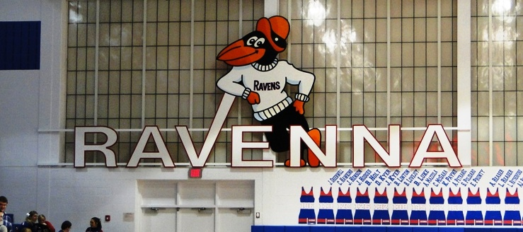 Ravenna Ravens Gym Gymnasium Basketball