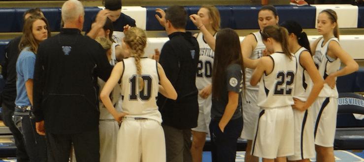 Louisville Lady Leopards Varsity Basketball 2014