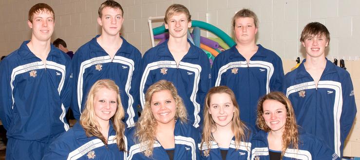 Seniors Swimmers 2014 - Louisville Leopards