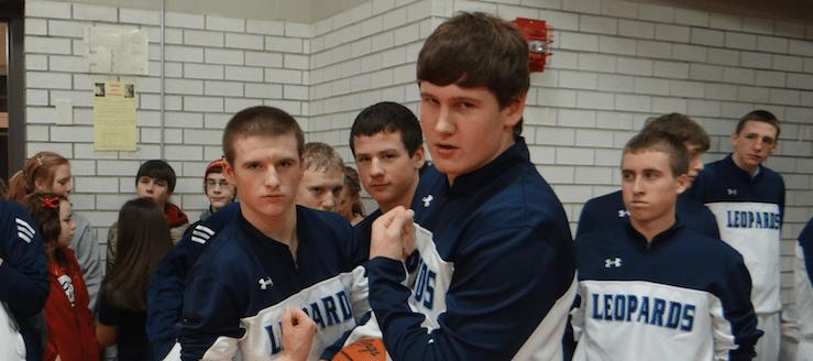 Blake Hoover & Jake Mathie Louisville Leopards Boys Basketball