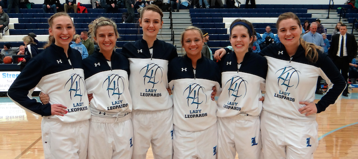 Louisville Lady Leopards Basketball Seniors 2014