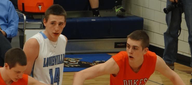 Drew Noble Louisville Leopards Vs. Marlington Dukes Boys Basketball