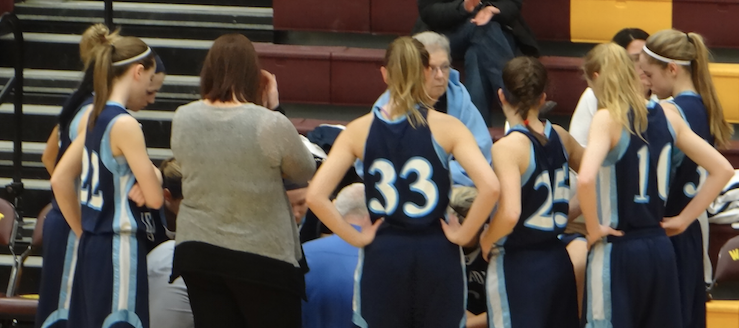 Louisville Lady Leopards at Walsh Jesuit Lady Warriors Girls Basketball