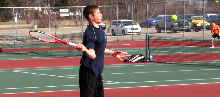 Jake Pukys Louisville Leopards Tennis