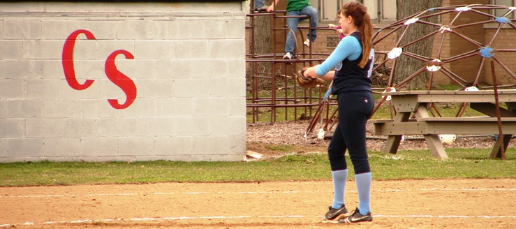 Brittany Flanigan Louisville Leopards Vs. Canton South Wildcats Softball 2011