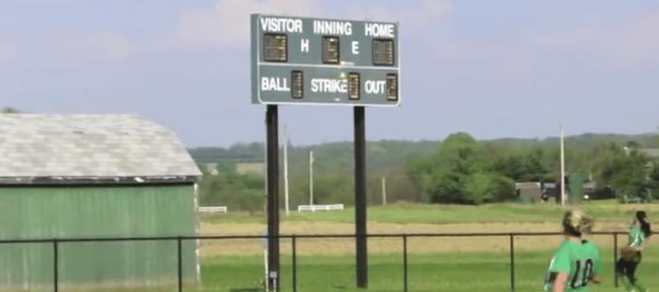 West Branch Warriors Softball Scoreboard