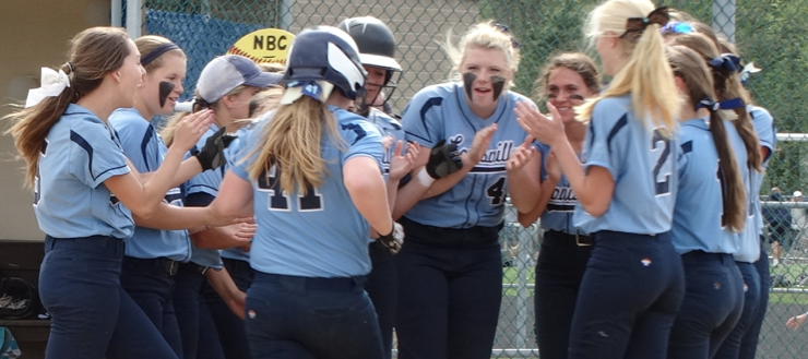 Emily Cantley Louisville Leopards Softball 2015 Vs. Alliance Home Run