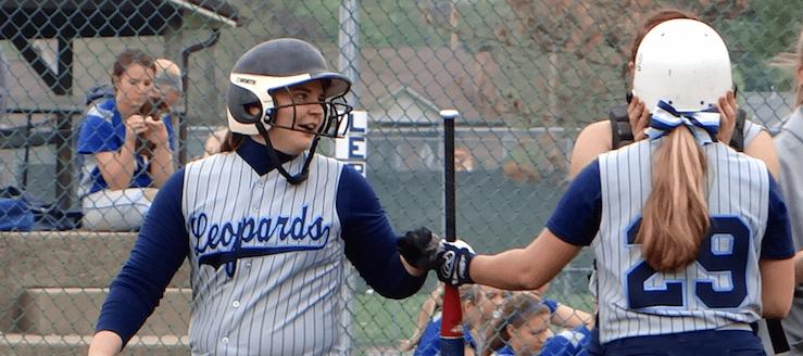 Keri Hupp Louisville Lady Leopards Softball