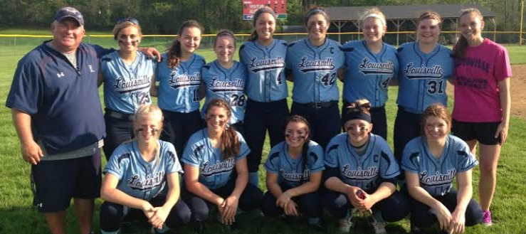 Louisville Lady Leopards Softball 2014 Outright NBC Champions at Alliance