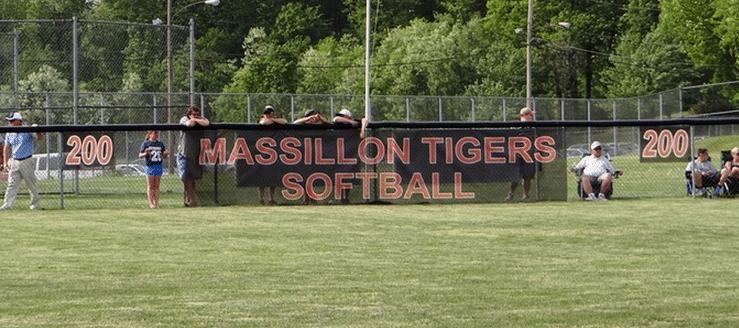 Massillon Tigers Softball Stadium