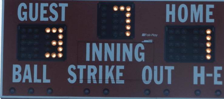 Minerva Lions Softball Scoreboard