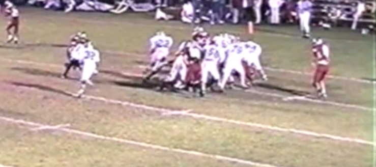Jason Siegfried Louisville Leopards Vs. Minerva Lions 1994 Football