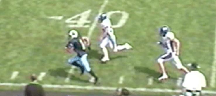 Drew Kuhn Louisville Leopards Vs. Poland Seminary Bulldogs 2004 Football Highlights