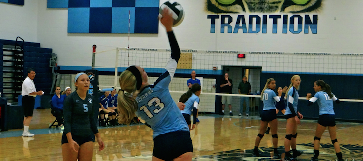 Haley Shadle Louisville Leopards Volleyball Highlights Video