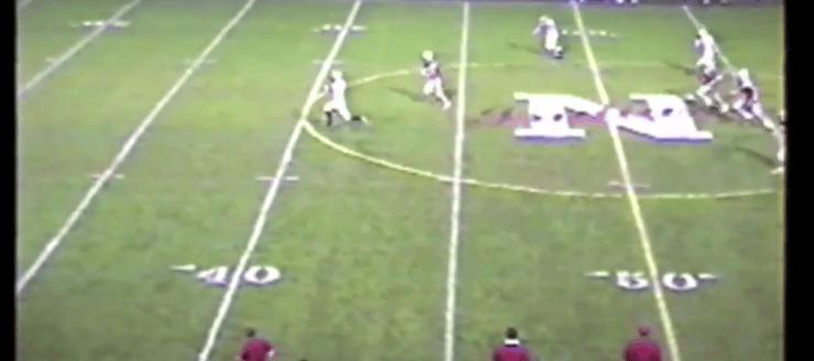 Justin Boudler Louisville Leopards Football Vs. Northwest Indians 2002