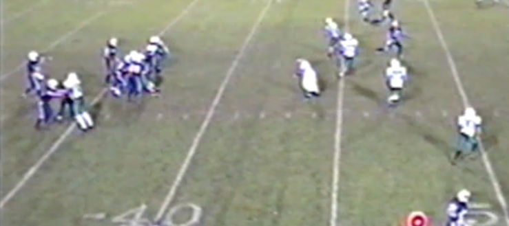 Gary Whaley Louisville Leopards Football 2002 Vs. West Branch Warriors