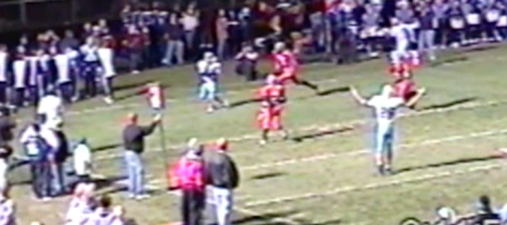 John Stallings Louisville Leopards at Minerva Lions 2003 Football