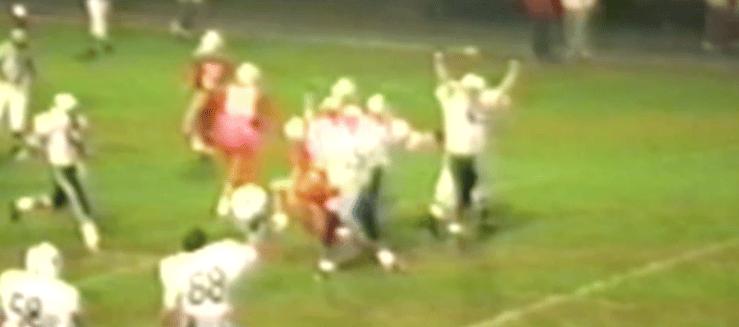 Louisville Leopards Sack Vs. Canton South 1989 Football