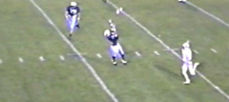 Marc Zustin Louisville Leopards 2002 Football