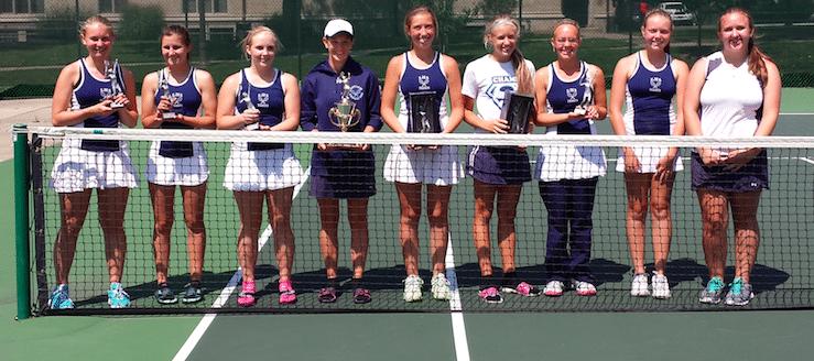 Louisville Lady Leopards Tennis Orrville Invitational Champions