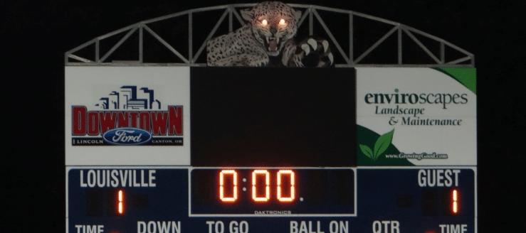 Louisville Leopards Scoreboard Leopard Eyes