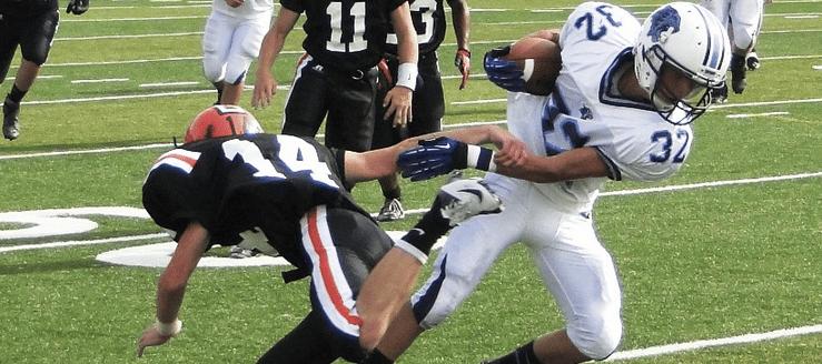 Kyle Woost Louisville Leopards Vs. North Canton Hoover Vikings Football JV