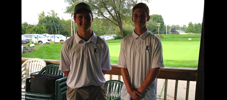 Dan Duplain & Heath Williams Louisville Leopards Golf Seniors 2014