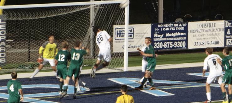 Kobie Shepherd Louisville Leopards Boys Soccer Vs. West Branch