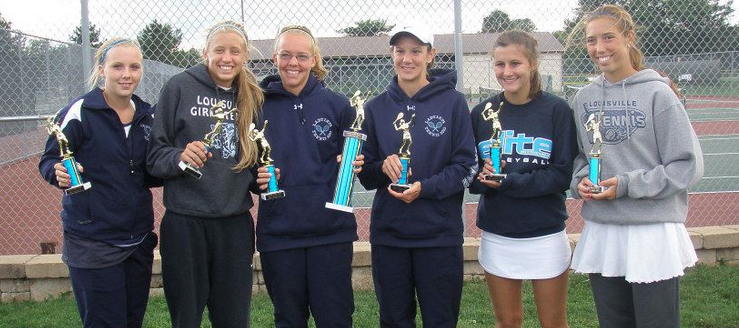 Louisville Doubles Classic Champions 2014 - Girls Tennis