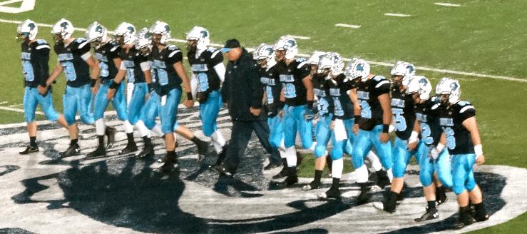 Louisville Leopards Football Seniors 2014, Senior Walk