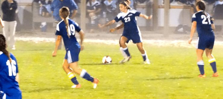 Hannah Baughman Louisville Leopards Girls Soccer at Alliance
