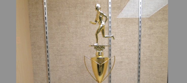 Louisville Leopards Boys Cross Country Championship Trophy Top