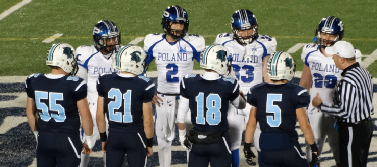 Louisville Leopards Vs. Poland Seminary Bulldogs Football Playoffs 2014