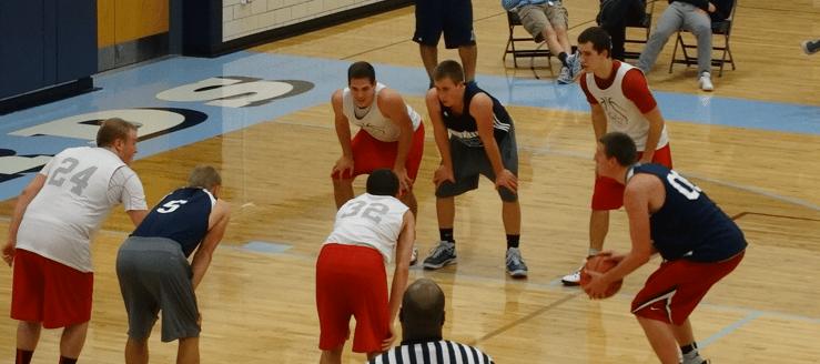 Drew Noble Louisville Leopards Vs. Northwest Indians Boys Basketball Scrimmage